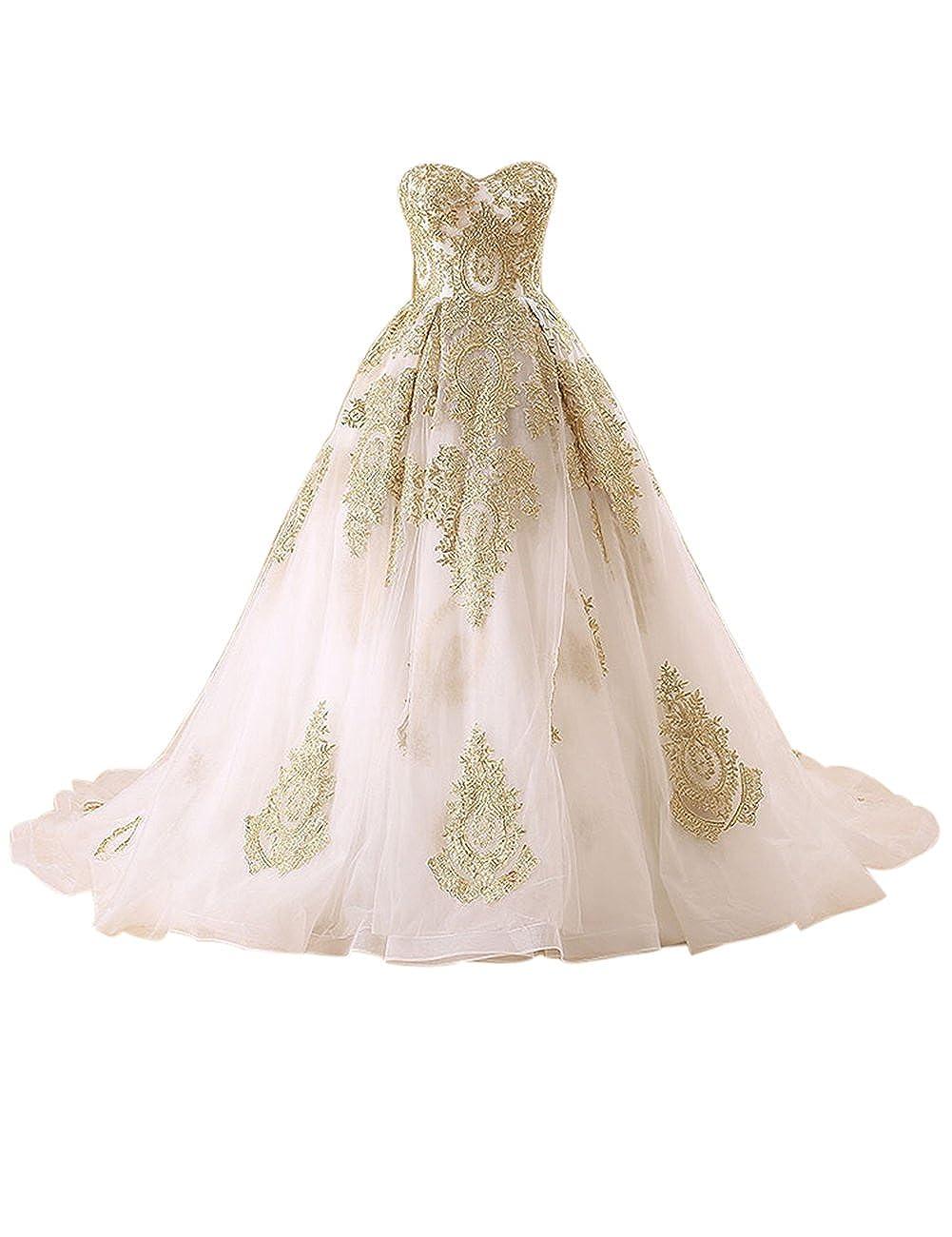 Erosebridal Lace Appliques Wedding Dress Bridal Gowns Mermaid Dress