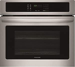 Frigidaire FFEW2726TS 27 Inch 3.8 cu. ft. Total Capacity Electric Single Wall Oven with 2 Oven Racks, Sabbath Mode, ADA Compliant, in Stainless Steel