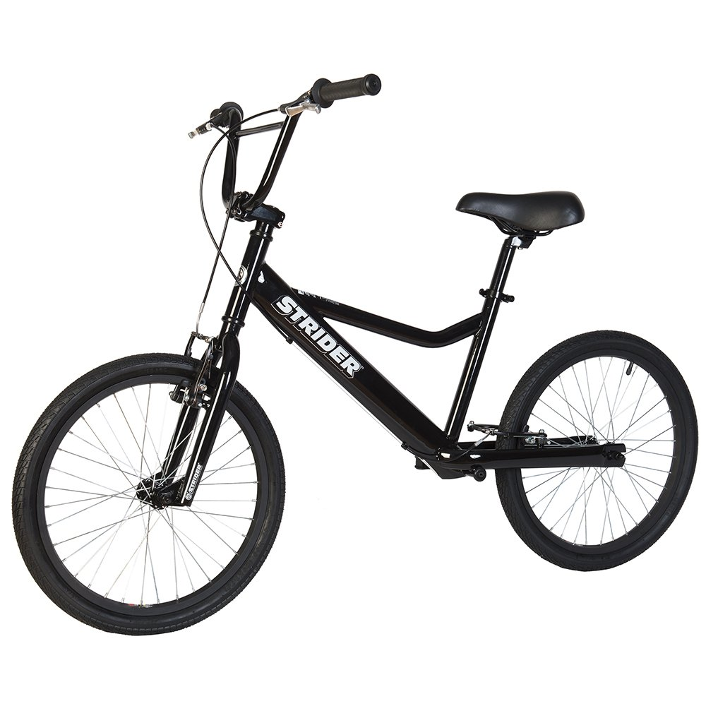 Strider - Adult 20 Sport No-Pedal Balance Bike, Ages 11 Years & Up