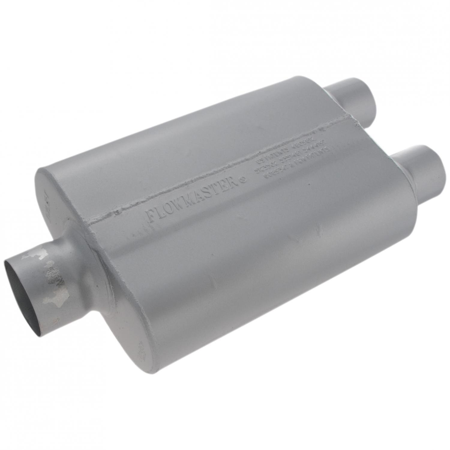 Flowmaster 430402 40 Series Muffler - 3.00 Center IN / 2.50 Dual OUT - Aggressive Sound by Flowmaster (Image #2)