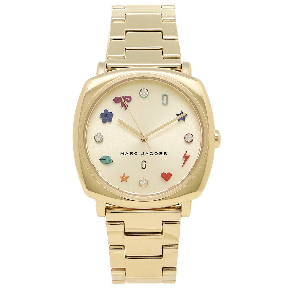 [マークジェイコブス] 腕時計 レディース MARC JACOBS MJ3549 イエローゴールド マルチカラー [並行輸入品] B078LS1HQM