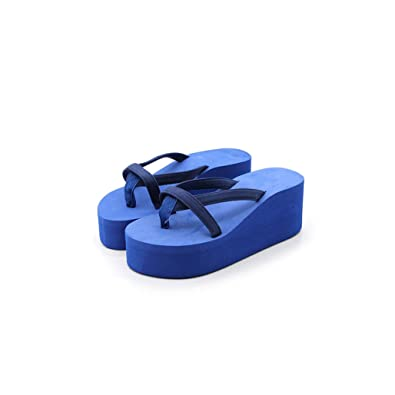 Good-memories Women Shoes Flip Flops Solid Slides Women Platform Sandals Women Thickness Sequin Shoes