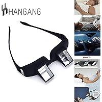 Hangang Lunettes de lit, prisme horizontal, lunettes pour lire/regarder la TV grandes dimensions en position couchée