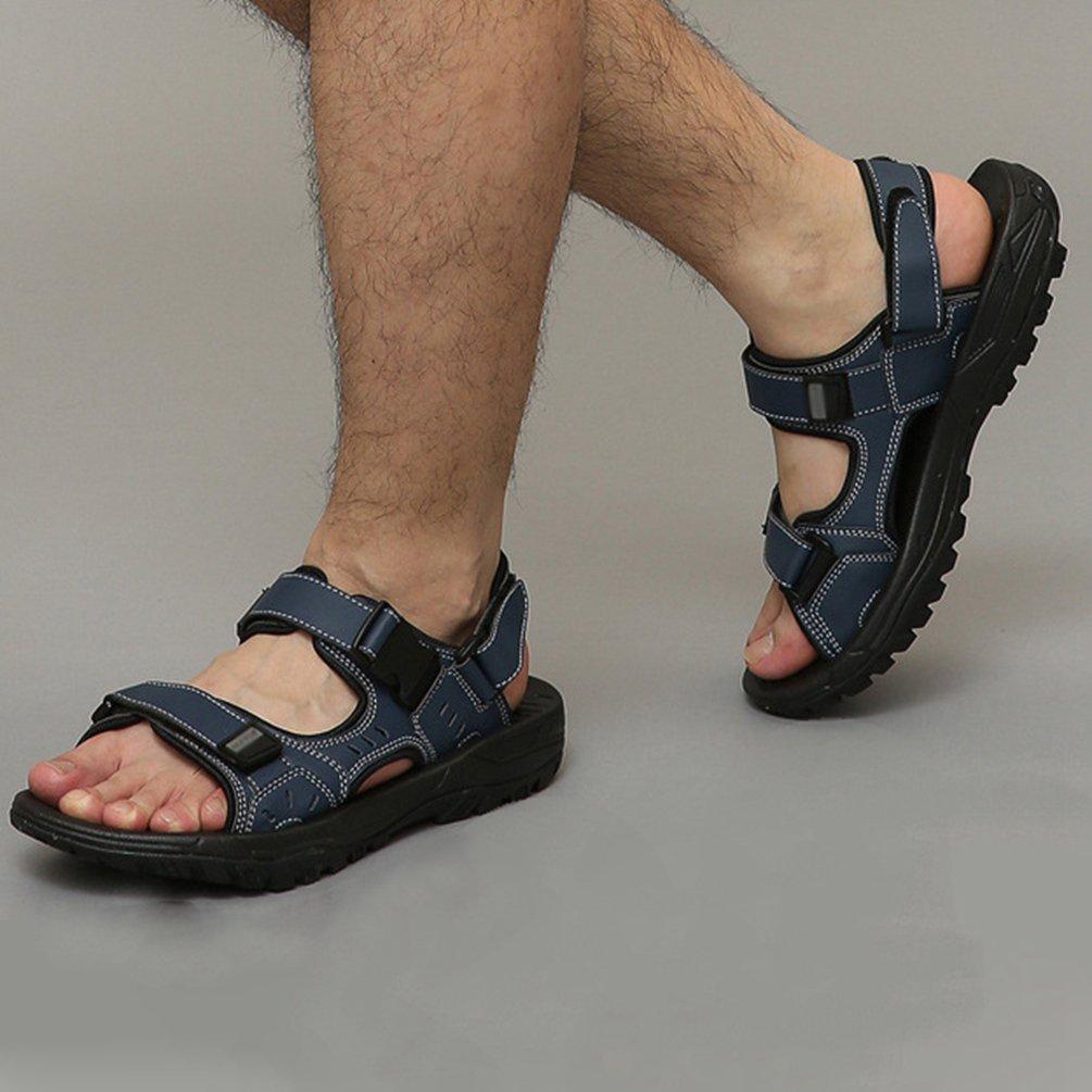 Yiiquan Homme Chaussure de Plage Confortables /Ét/é de Plein Air Bout Ferm/é Respirant Sport Sandale