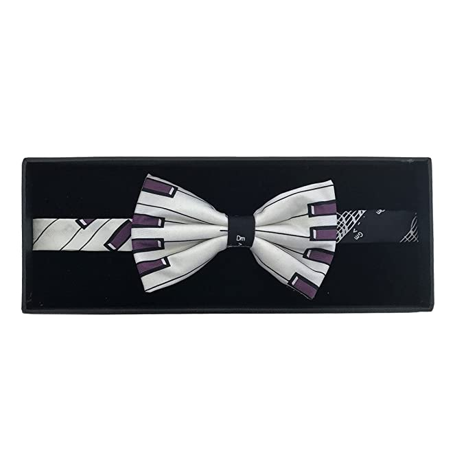 df6a1c2a5a4d Music Piano Keys Bow Tie by The Tie Studio: Amazon.co.uk: Clothing