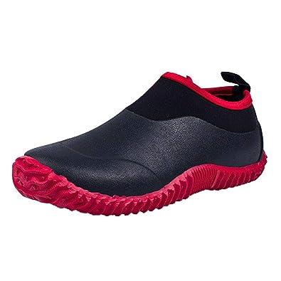 44aff41f3e92 JACKSHIBO Rain Boots Shoes