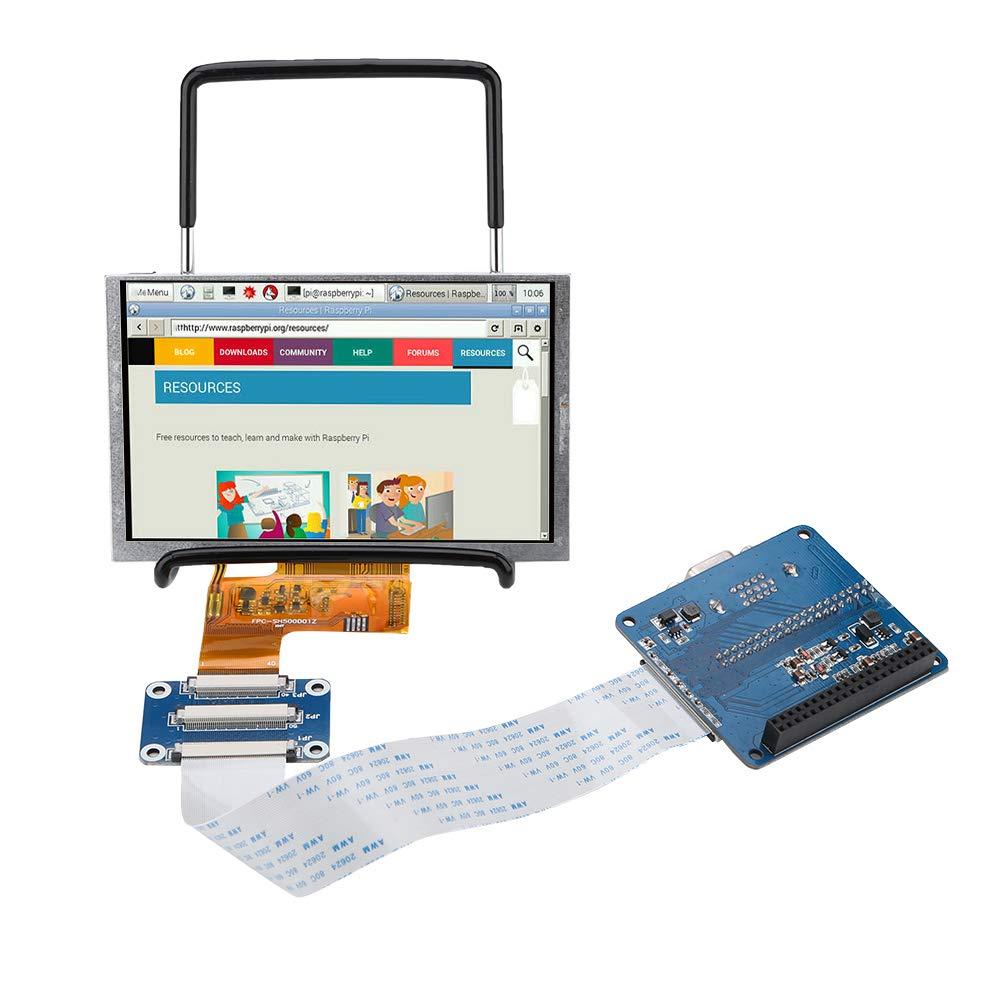 Amazon com: ASHATA LCD Display for Raspberry Pi, High