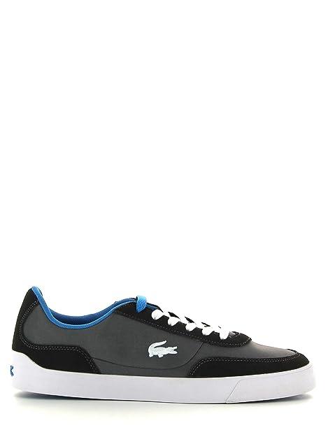 finest selection 6e579 8e9ba Amazon Lacoste Bowling it Azul Oscuro Da Scarpe Gris Uomo xw