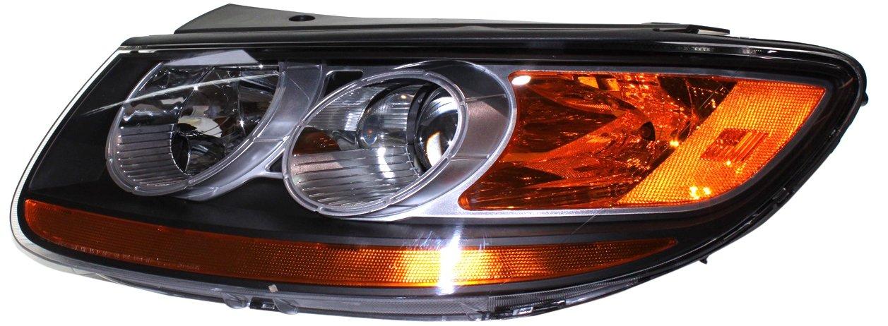 TYC 20-6808-90-9 For Hyundai Santa Fe Left Replacement Head Lamp