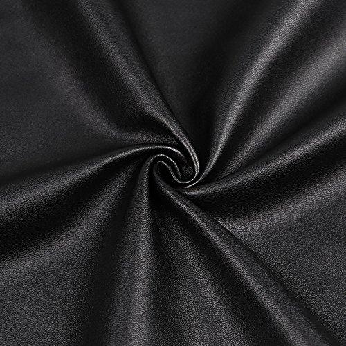 pour Jupe Stretch pour en Femme Courte Goujons Irrgulires Noir Oudan Jupe Cuir Crayon Jupes I8qEgg