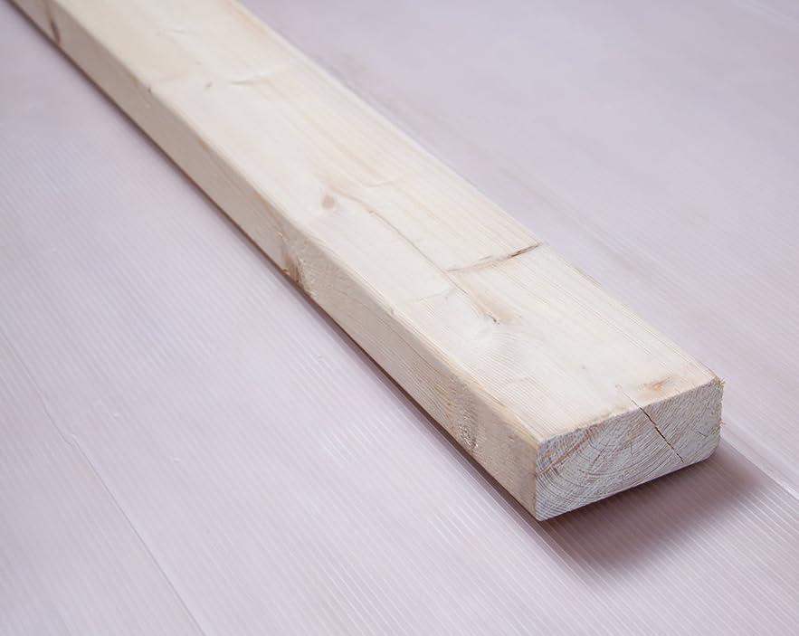 トレイ検出ジャニス川島材木店 ホワイトウッド 7.2x3.3x100(99)cm 木材 角材
