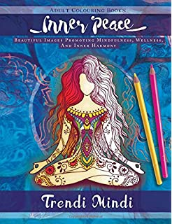 Adult Coloring Books: The Yoga Coloring Book For Adults: Amazon.co ...