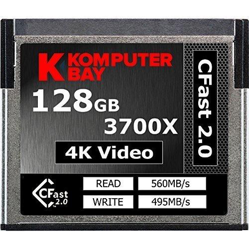 236 opinioni per Komputerbay professionale 3700x 2.0 Card 128 GB CFast (fino a 560MB / s in