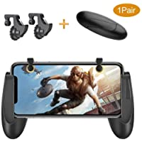 KACOOL Game Trigger Controller Gamepad /Sensitive Shoot and Aim Fire Buttons L1R1 for PUBG / Knives Out / Mobile Gaming Joysticks for Android iPhone