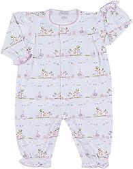 ed7a5c7a0 Kissy Kissy Baby Girls' Noah's Print Playsuit Ruffled