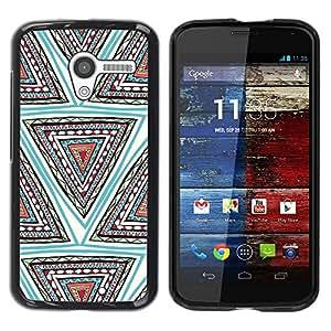 Be Good Phone Accessory // Dura Cáscara cubierta Protectora Caso Carcasa Funda de Protección para Motorola Moto X 1 1st GEN I XT1058 XT1053 XT1052 XT1056 XT1060 XT1055 // Hand Shape