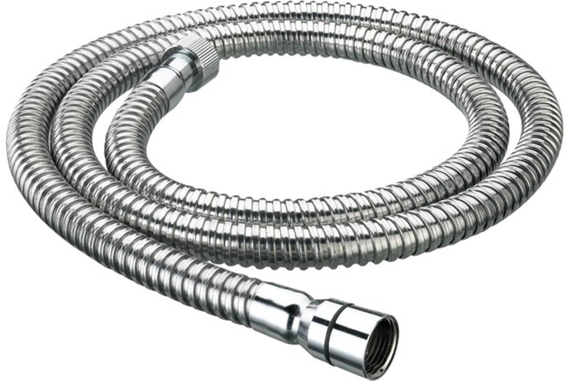 Bristan HOS 175CN01 C Cone to Nut Std Bore Shower Hose, Chrome, 1.75m