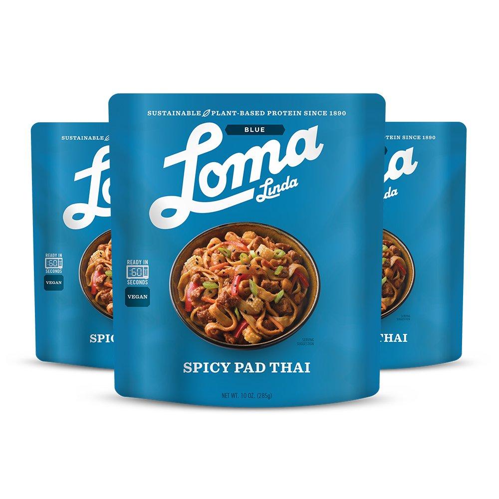 Loma Linda Blue - Vegan Complete Meal Solution - Heat & Eat Thai Red ...