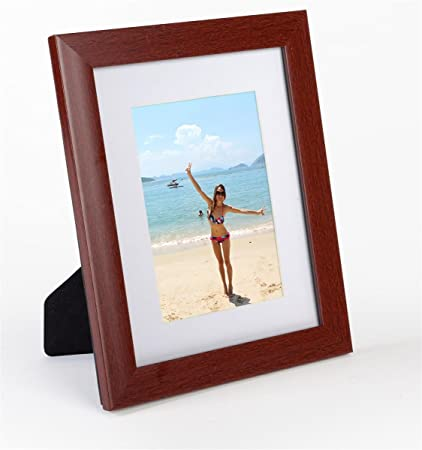 Amazon Set Of 4 Matted Picture Frames For 5x7 Prints Plastic