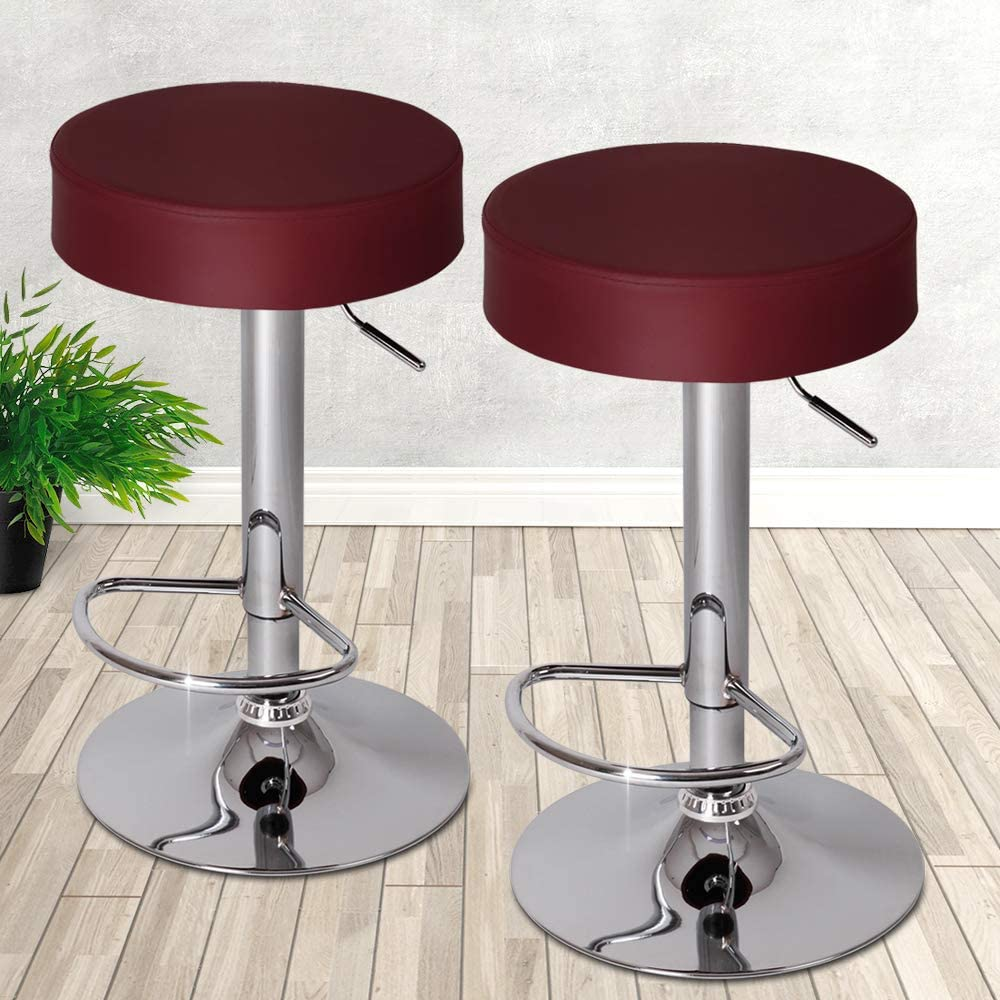Jago LBHK06 2 Bordeaux Bar Stools
