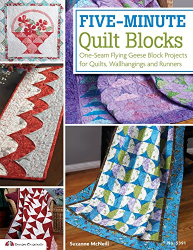Five-Minute Quilt Blocks: One-Seam Flying Geese Block Projec