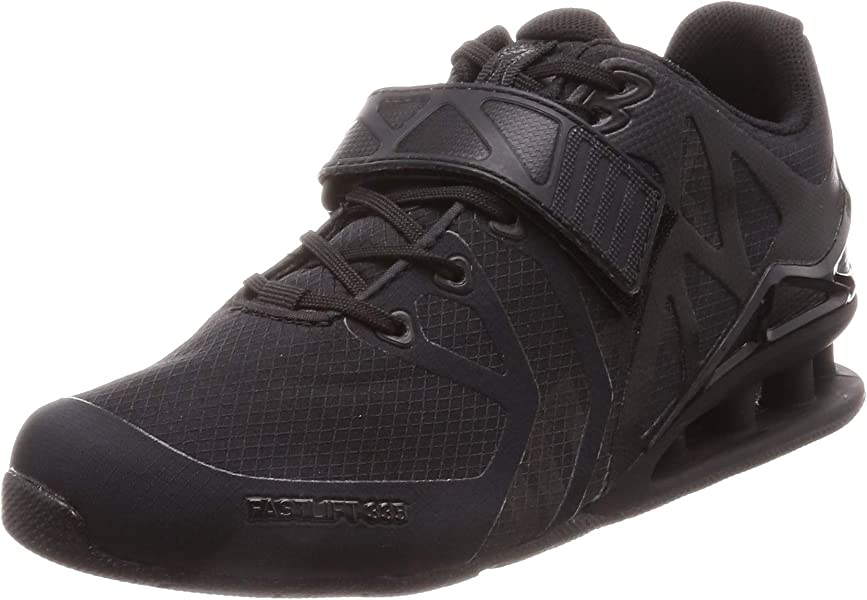 Black//Black Inov8 Fastlift 335 Women/'s Training Shoes