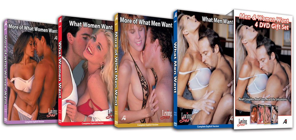 Loving Sex - Half-Price 4-DVD Set - What Men & Women Want