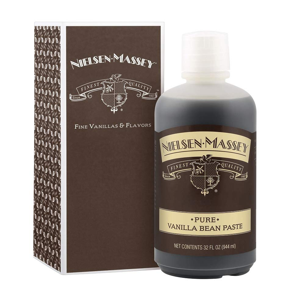 Nielsen-Massey Pure Vanilla Bean Paste, with Gift Box, 32 ounces by Nielsen-Massey