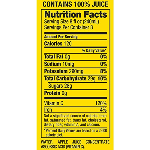 Review Mott's 100% Apple Juice,