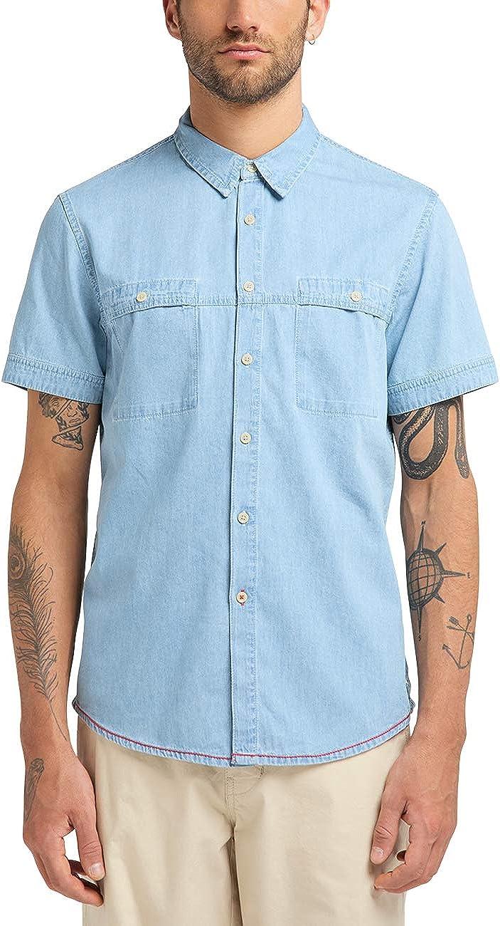 Mustang Chris Denim Shirt Camisa Vaquera para Hombre: Amazon.es: Ropa y accesorios