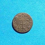 1766 DE Mecklenburg-Strelitz Adolf Friedrich IV 1 Sechsling Coin Coin Very Fine Detials