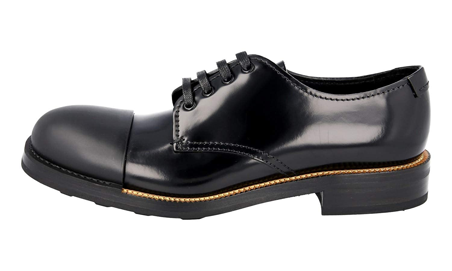 4bc2f291a349 Amazon.com | Prada Men's 2EG190 055 F0002 Brushed Spazzolato Leather  Lace-up Shoes | Shoes