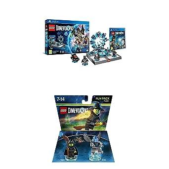 LEGO - Starter Pack Dimensions (PS4) + LEGO Dimensions - El Mago ...