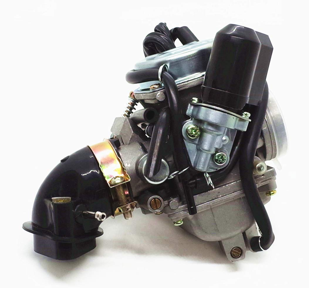 Carburetor /& Intake Manifold Boot Kandi 150cc Spyder 150 KD-150GKR Go Kart ATV KD-150FS PD24J+ 2046 boot KD-150GKH-2 KD-150GKM-2 KD-150GKA-2