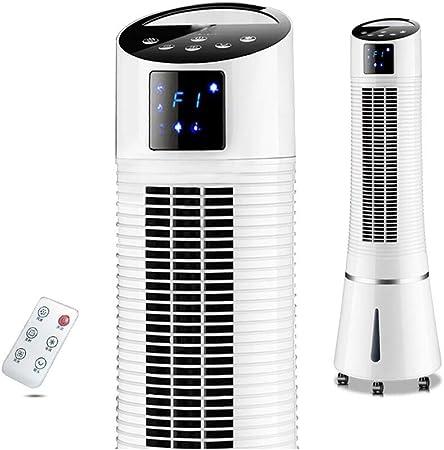 Opinión sobre JIANXIN Ventilador De Torre Oscilante, Ventilador Sin Hojas para El Hogar, Ventilador De Piso Tridimensional Silencioso, Control Remoto 300 * 950mm