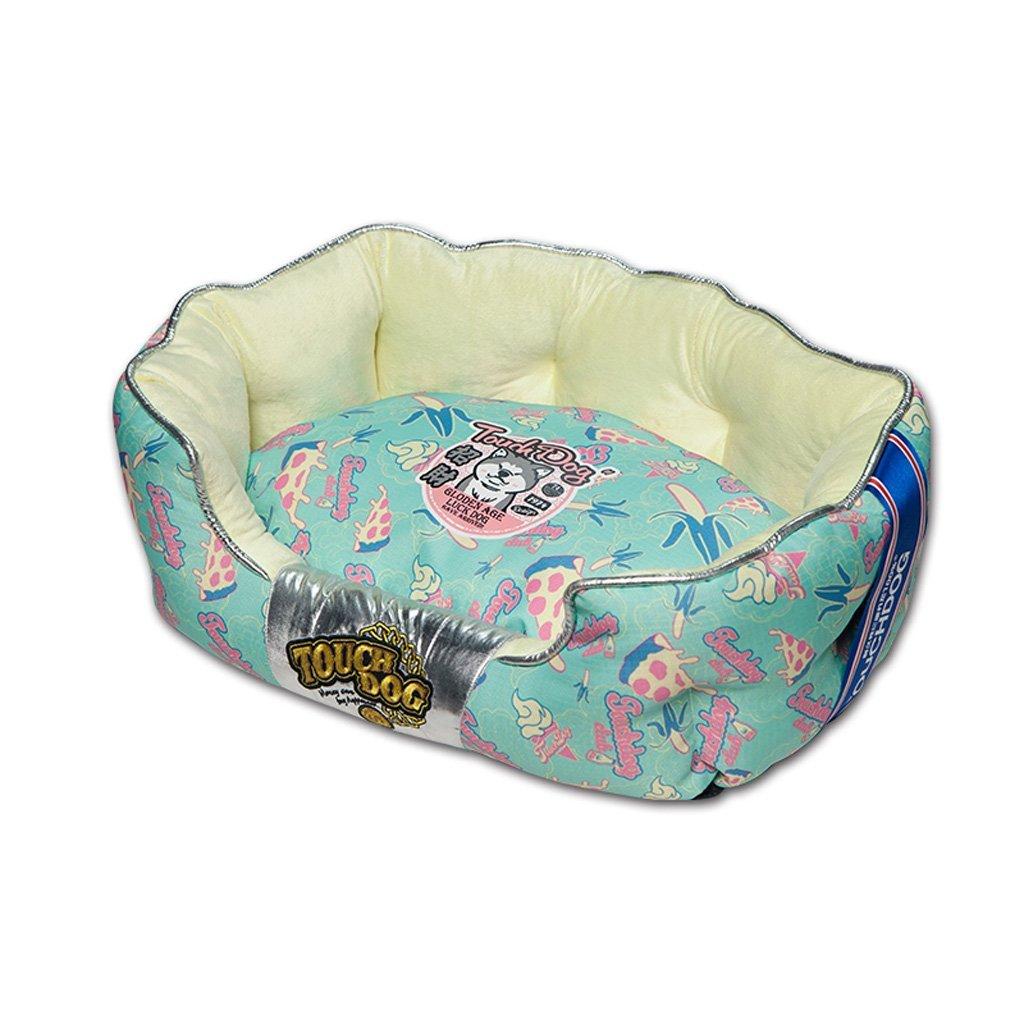 M-654026cm Huangyingui Removable Kennel Pet Nest Teddy Small Dog Sofa Pet Bed Dog Bed, M L (Size   M-65  40  26cm)