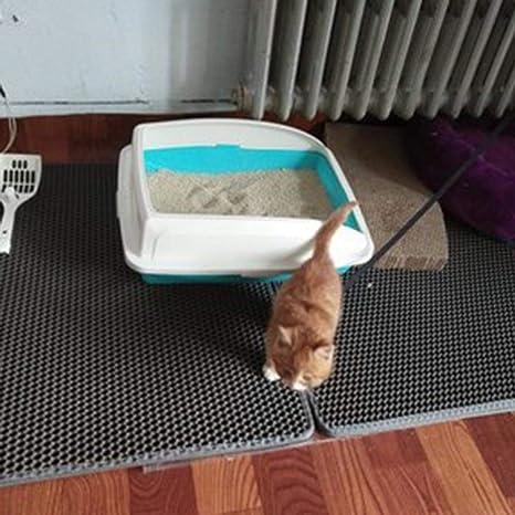 H-sunshy Estera higiénica Desmontable de Doble Capa para Gatos ...