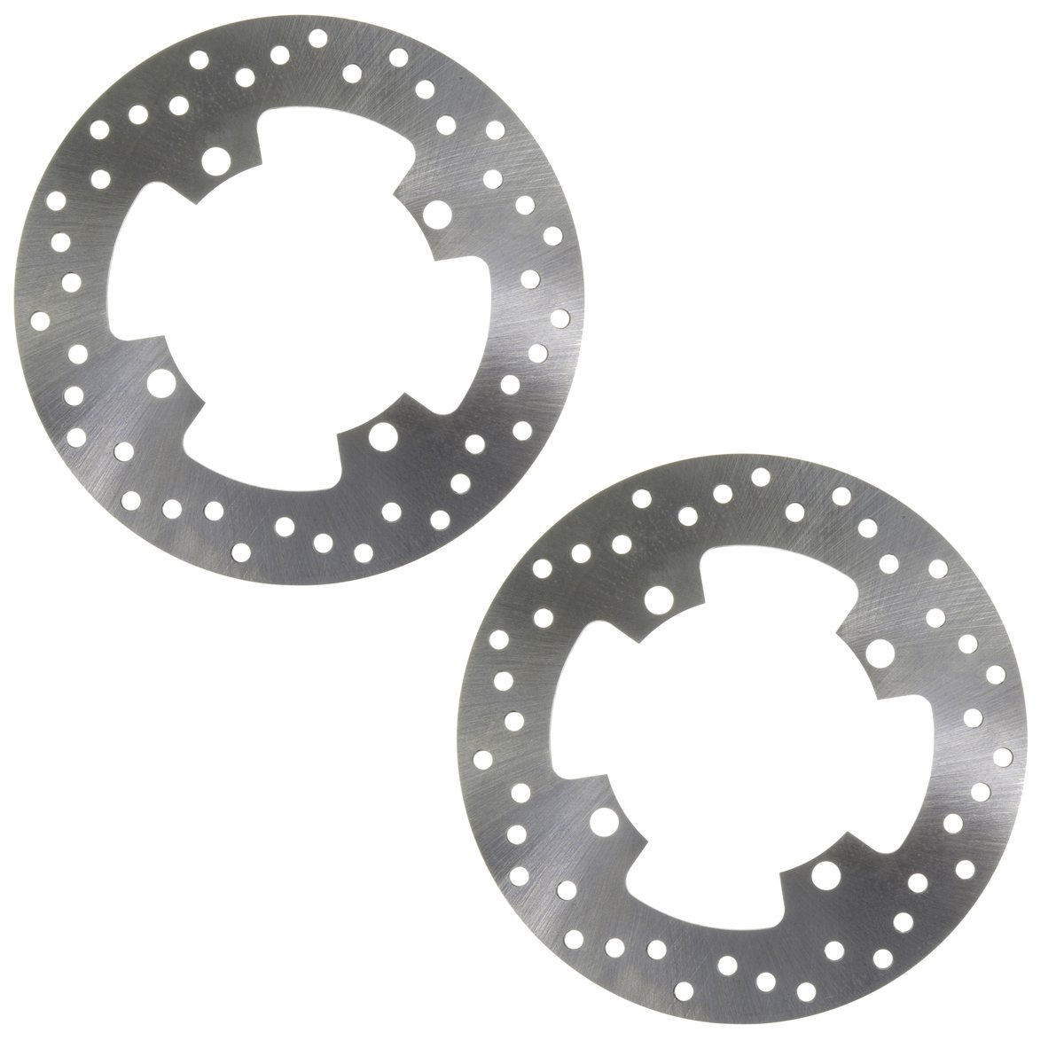 Factory Spec, FS-2086, 2 Front Disc Brake Rotors 2002-2008 Yamaha Grizzly 660 4x4 YFM660F