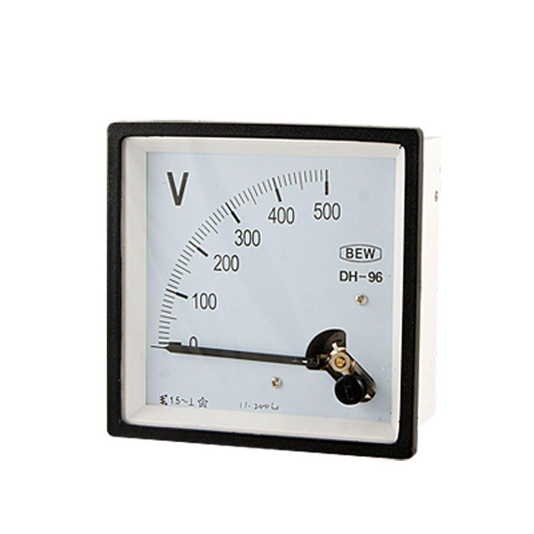 eDealMax AC 0-500V classe 1.5 Précision Analog Panel Meter Tension