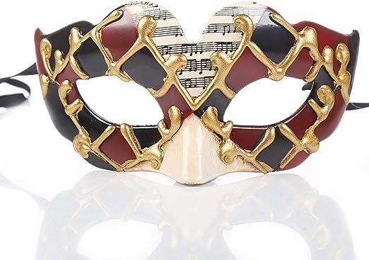 Hermosas máscaras venecianas, fiesta de Halloween, máscaras de ...