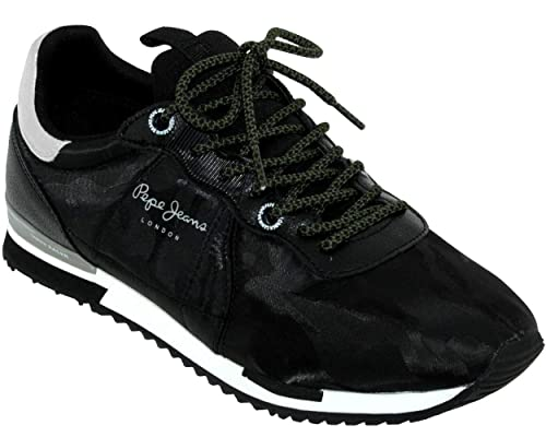 Pepe Jeans Tinker Racer Nylon, Zapatillas para Hombre: Amazon.es: Zapatos y complementos