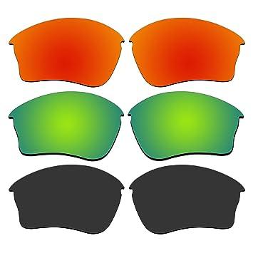 3 par de gafas de sol lentes polarizadas para Oakley Half ...