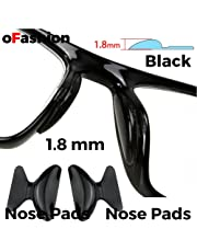 Nose Pads Anti-slip Stick on Silicone For Glasses Spectacles Eyeglass Sun-glass, 1 Pair 1.8 mm , 2.5 mm