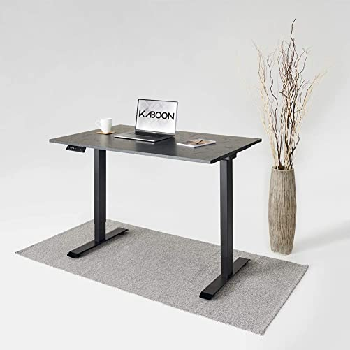 Kaboon Dual Motor Standing Desk Adjustable Height Smart Desk Electric Adjustable Desk Home Office