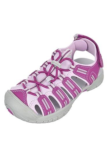 b51dae52864766 Girls Pink Purple Khombu Closed Toe Athletic Sandal (Girls 2)