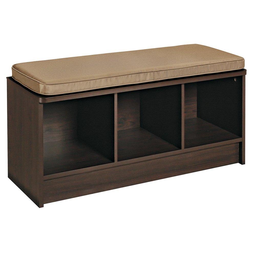 ClosetMaid Cubeicals Bench-Espresso, 47 cm x 35.6 cm x 89.5 cm 1570