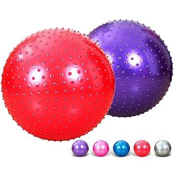Pelota de yoga grande PBFONE de 55 cm, pelota de ejercicio suave ...