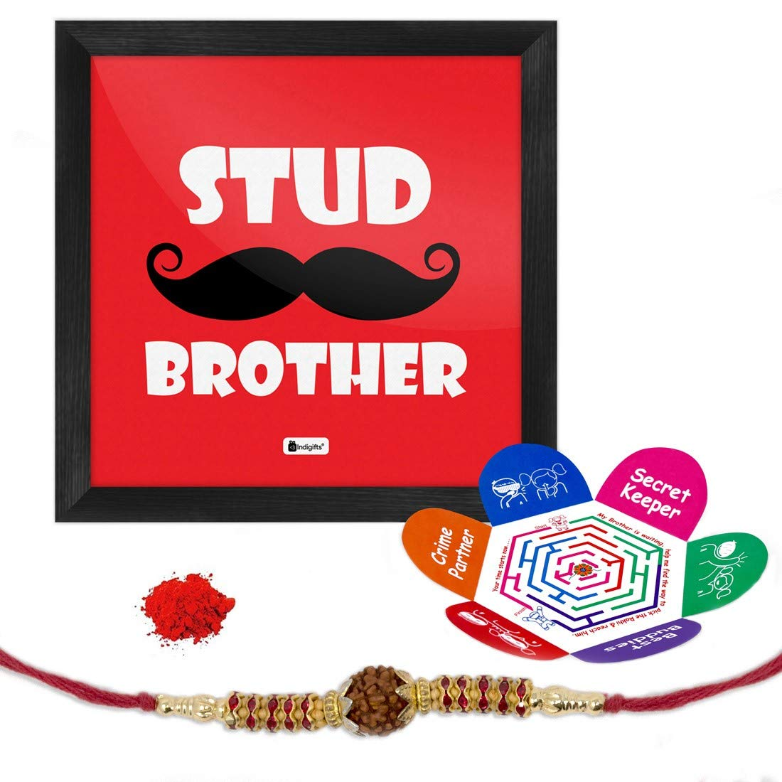Indi ts Stud Brother Quote Printed Gift Set Poster