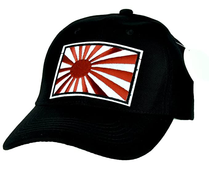 Amazon.com  Japanese Flag Rising Sun Hat Baseball Cap Alternative ... 7c9d1a61e55