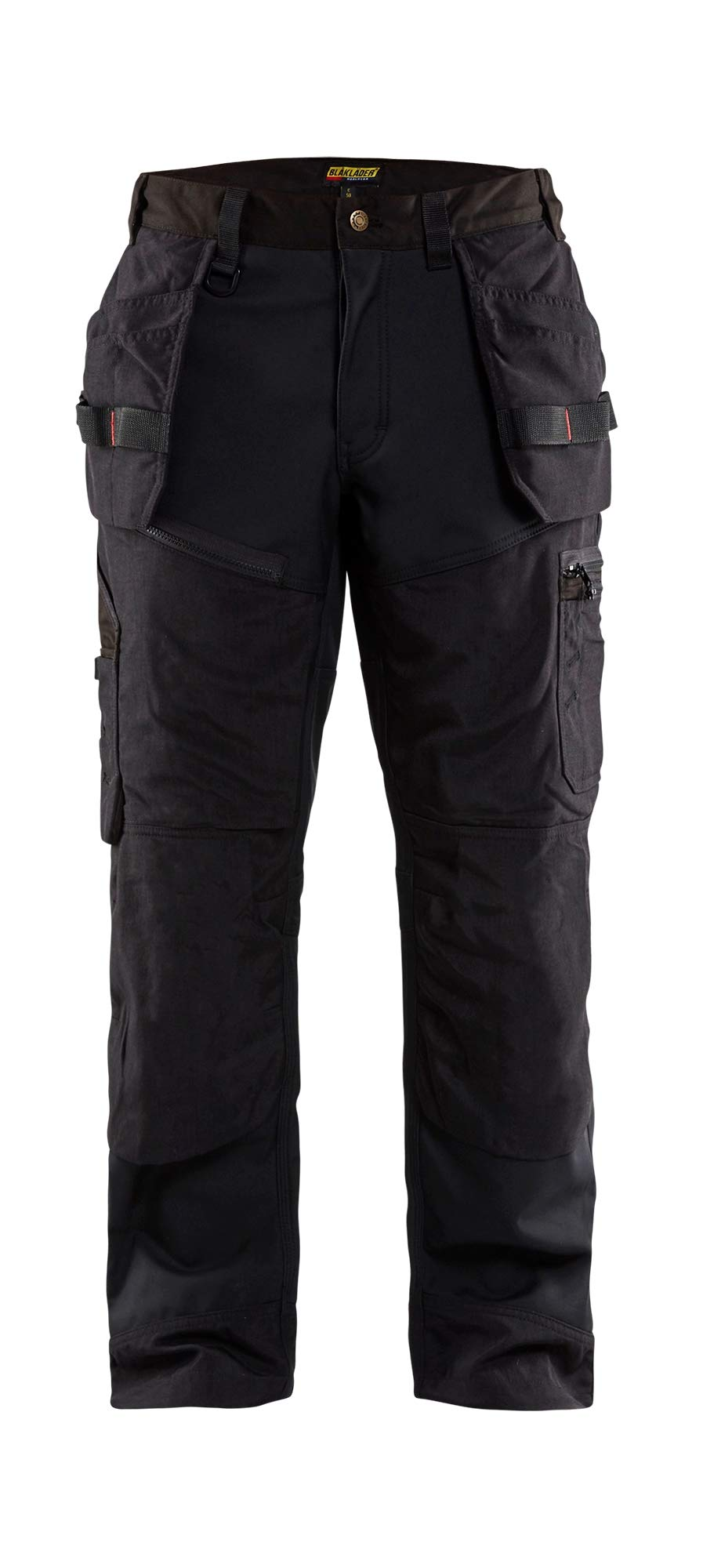 Blaklader 150025179900C60 X1500 Trousers Craftman, Size 44/34, Black